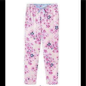 NWT Joules floral pajama pants